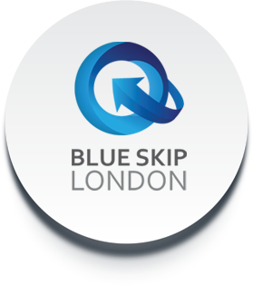 Logo Blue Skip London