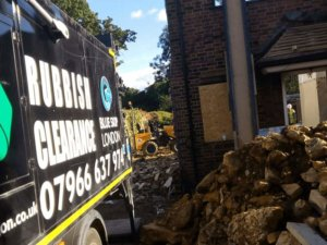 Rubbish removal in Ealing