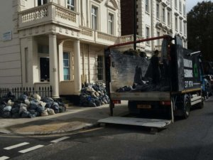 rubbish removal in central London